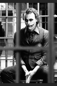 I would say this man is tied out of two or three others for my favorite villain.