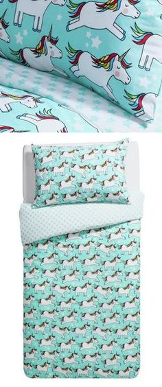 I love this Unicorn Duvet Set! Plus it's in the 2 for £15 offer at Argos!