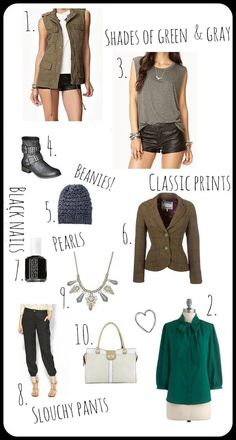 Trends for Fall 2013 and where to find them, ummm