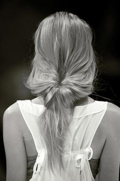 Simple & soft hair style #simple#hair#minimal