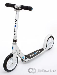 Scooter (footbike) | koloběžka – Micro White > Priblizovadla.cz