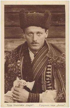 Hutsul man, Ukraine