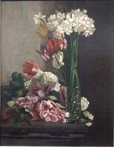 Frédéric Bazille, Fleurs on ArtStack #frederic-bazille #art