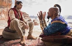 Disney's Aladdin is riding that magic carpet to the top of the box office.The live-action remake of the 1991 animated film exceeds expectations to take the box office crown over Memorial Day weekend, the unofficial start of summer. Aladdin was expected … Disney Live, Film Disney, Disney S, Disney Movies, Disney Magic, Naomi Scott, Robin Williams, Sherlock Holmes, Aladdin Live