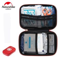 NatureHike Safe Wilderness Survival Car Travel First Aid Kit Medical Bag Outdoors First-Aid Kit Camping Emergency Kit Treatment(China (Mainland))