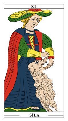 Tarotová karta Síla