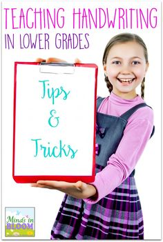 Handwriting Tips for Lower Grades