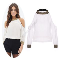 blusa de hombros caidos - Buscar con Google Blusa De Hombros Caidos 485ef0372bf4