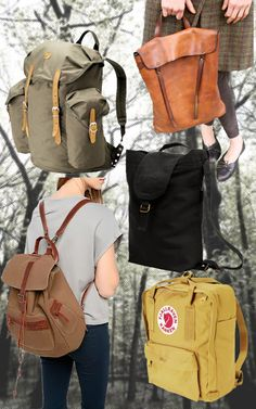 More backpacks.