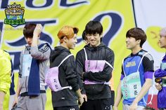 BTS's Jimin & GOT7's JB with Boys Republic's Sungjun & Suwoong