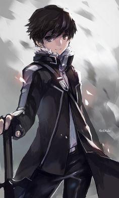 Sword Art Online, Kirito, by swd3e2