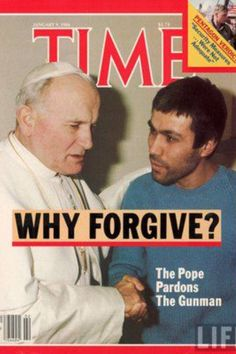 Pope John Paul II for ever showing us the way...