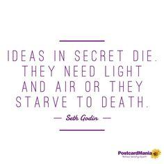 Let your ideas LIVE!