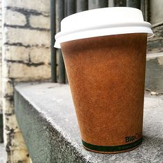 Today's cup, from 2 Pocket. #coffee #coffeetime #cafe #coffeecup #papercup #melbourbecafe #melbournecoffee