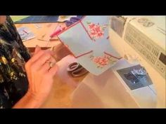 ▶ Fabric bowl with Debbie Shore - YouTube