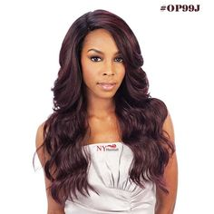 Freetress Equal Invisible L Part Lace Front Brazilian Natural - DANITY