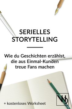 Storytelling ist ein wunderbares PR-Instrument. Wenn du es richtig machen willst, erfinde aber nicht nur eine einzelne Geschichte. Setze auf Serialität! Mit diesen Tipps und dem kostenlosen Worksheet, wirst du im Nu eine kleine Serie auf die Beine gestellt haben, die viele Kunden anlockt. Themen: Storytelling, Kommunikation, Kultur, Stiftung, Serialität