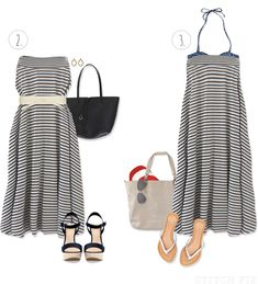 Spring Summer Maxi Skirt Outfits