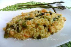 risotto asparagi e gamberetti ricetta