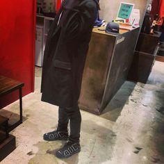 #dailylook #coat #nike #uptempo #supreme