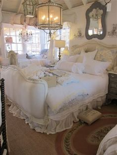 beautiful shabby chic room