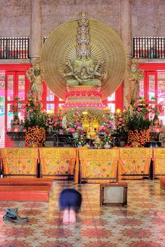 Hall of Compassion, Kong Meng Shan Temple, Singapore