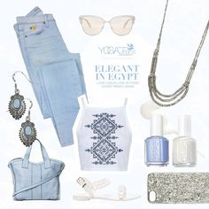 ELEGANT IN EGYPT; Look casual chic in these super trendy jeans
