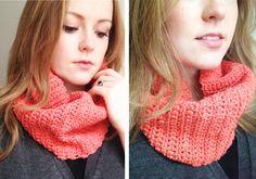 DIY: crochet tube scarf