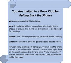 Book Club Fun and Giveaway - The Respect Dare for Young Married Women