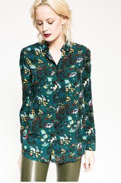 Bluzki i koszule Koszule z długim rękawem  - Medicine - Koszula Rebel Forest