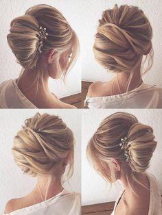 60 Wedding Hairstyles for Long Hair from Tonyastylist | Blog, Frisur ... | Frauen Haare |