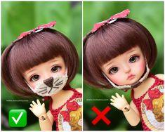 #bjd #abjd #balljointdoll #dollofstargram #instadoll #dollstargram #toy #paint #painting #painted #repaint #handmade #nomyens #nomyensfaceup #latidoll #latiyellow #latiyellowdoll #lati #lati #tinydoll #tinydolls #Latilea Star G, Tiny Dolls, Ball Jointed Dolls, Bjd, Disney Princess, Toys, Disney Characters, Handmade, Painting