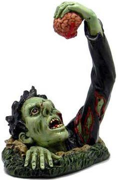"""Zombie with Brain 7 1/2"""""""