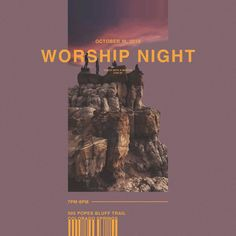 Poster design for YWAM Colorado Springs Poster Design, Graphic Design Posters, Graphic Design Typography, Colorado Springs, Church Graphic Design, Church Design, Layout Inspiration, Graphic Design Inspiration, Banner Design