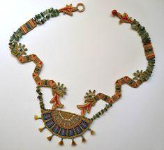 Micro-macrame jewelry by Elena Miklush