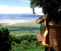 Ngorongoro Crater Lodge -   Ngorongoro, Tanzania