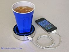 Charging Mobile With Hot Coffee OR Cold Drink | Temprature Based Mobile Charger
