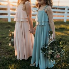 The perfect flower girl dresses from Jenny Yoo Photography by Andrea Lowry Photography