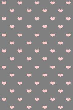 ❤, lámina, corazones, imprimible, rosa, gris,