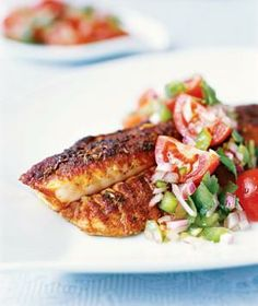 Blackened Catfish from realsimple.com #myplate #protein