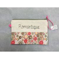 Trousse plate message Romantique