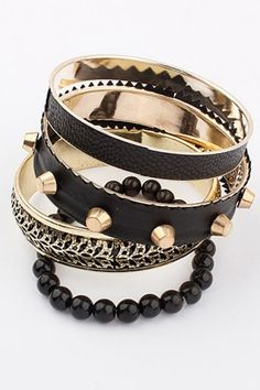 Vintage Studded Bracelet Sets
