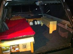 Living in Your Truck: Living in your vehicle is quite easy, and a humbling experience to boot!Here are some things necessary to keep in consideration when living in your truck. Build A Camper, Truck Camper, Ute Camping, Truck Living, Creature Comforts, Build Your Own, Survival Tips, Trucks, Building