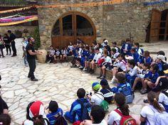 """Los alumnos disfrutaron de su estancia en el alojamiento rural """"El Mas de Borras"""", los principales objetivos de esta actividad son: Acercar a los alumnos el conocimiento del medio natural, fomentando su respeto y cuidado. ECOLOGIA. SENDERISMO. DEPORTES. ETNOLOGIA. AVENTURA. JUEGO. CONVIVENCIA. INTEGRACIÓN. - Colegio San Cristóbal - Castellón."""