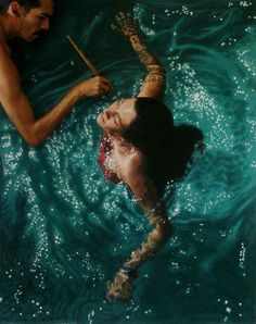 SPOTLIGHT: Hyperrealistic Paintings by Gustavo Silva Nuñez Excuse…. Valencia, Venezuela-based sorcerer artist Gustavo Silva Nuñez creates extraordinary paintings that are so. Art Gallery, Painting Photos, Photo, Hyperrealism, Amazing Art, Realistic Art, Pictures, Realistic Paintings, Water Painting