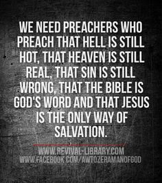 Right preaching and teaching