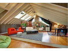 Atlanta bungalow - finished attic space