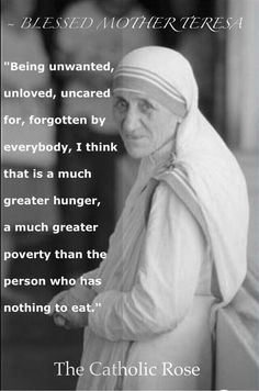 quotes from Mother Teresa. Discover Mother Teresa famous and rare quotes. A Nobel Peace Prize laureate, Mother Teresa devoted her life to the poor, the sick, the abandoned and the dying in countries around the world. Catholic Quotes, Catholic Prayers, Catholic Saints, Catholic Beliefs, Roman Catholic, Christianity, Spiritual Quotes, Wisdom Quotes, Life Quotes