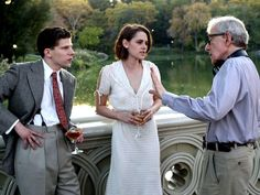 On the set of Woody Allen's new film: 'Café Society'