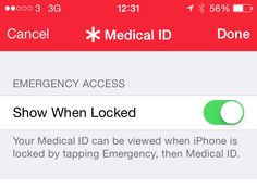 How to set up your emergency contact information (ICE) on your iPhone (iOS8)